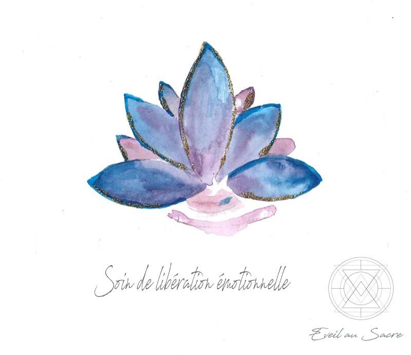 Soin de libération émotionnelle par Claire, thérapeute énergéticienne et accompagnatrice holistique